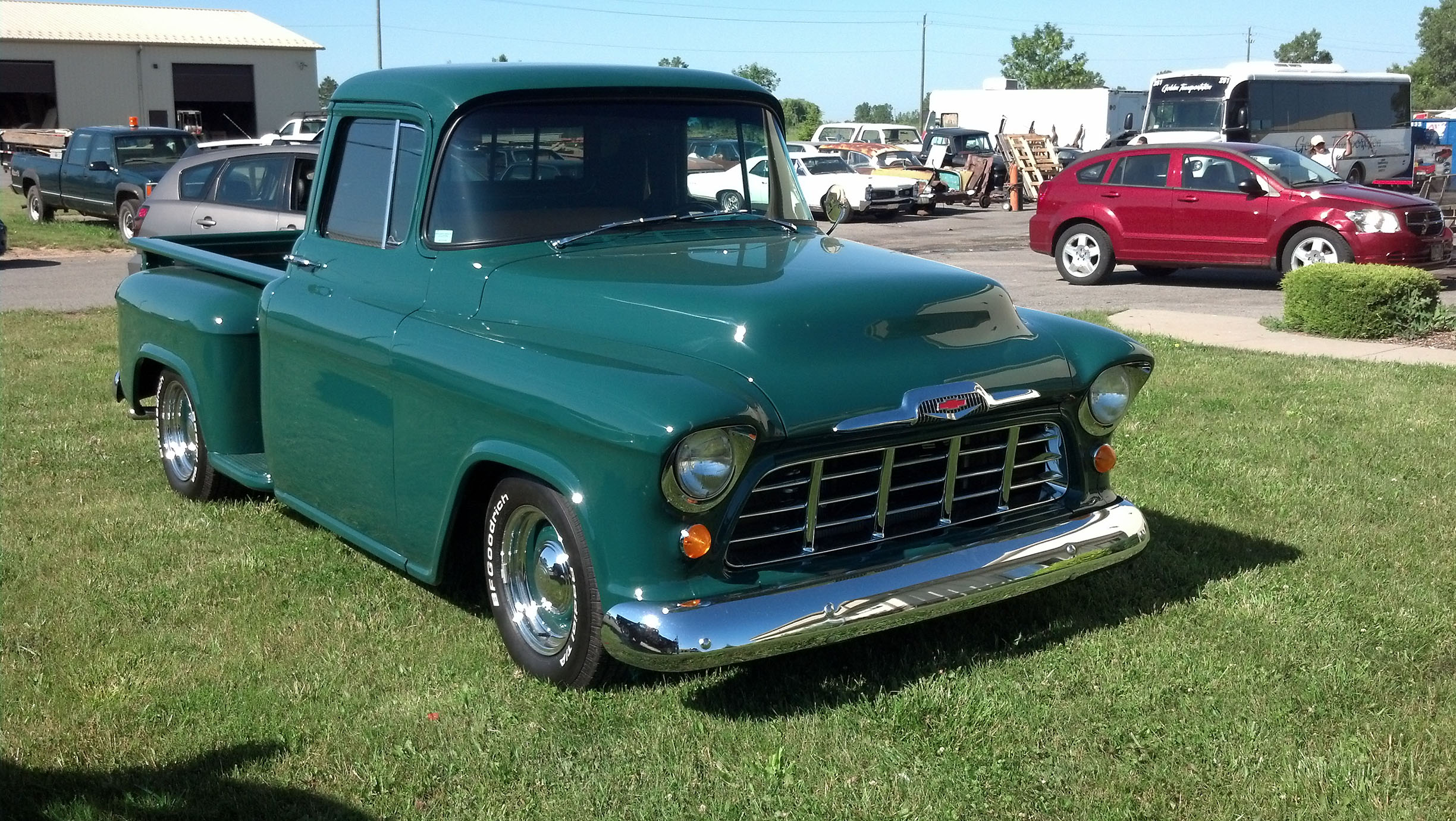 1956 Chevy Truck - S & S Auto Body of Clarence Inc.