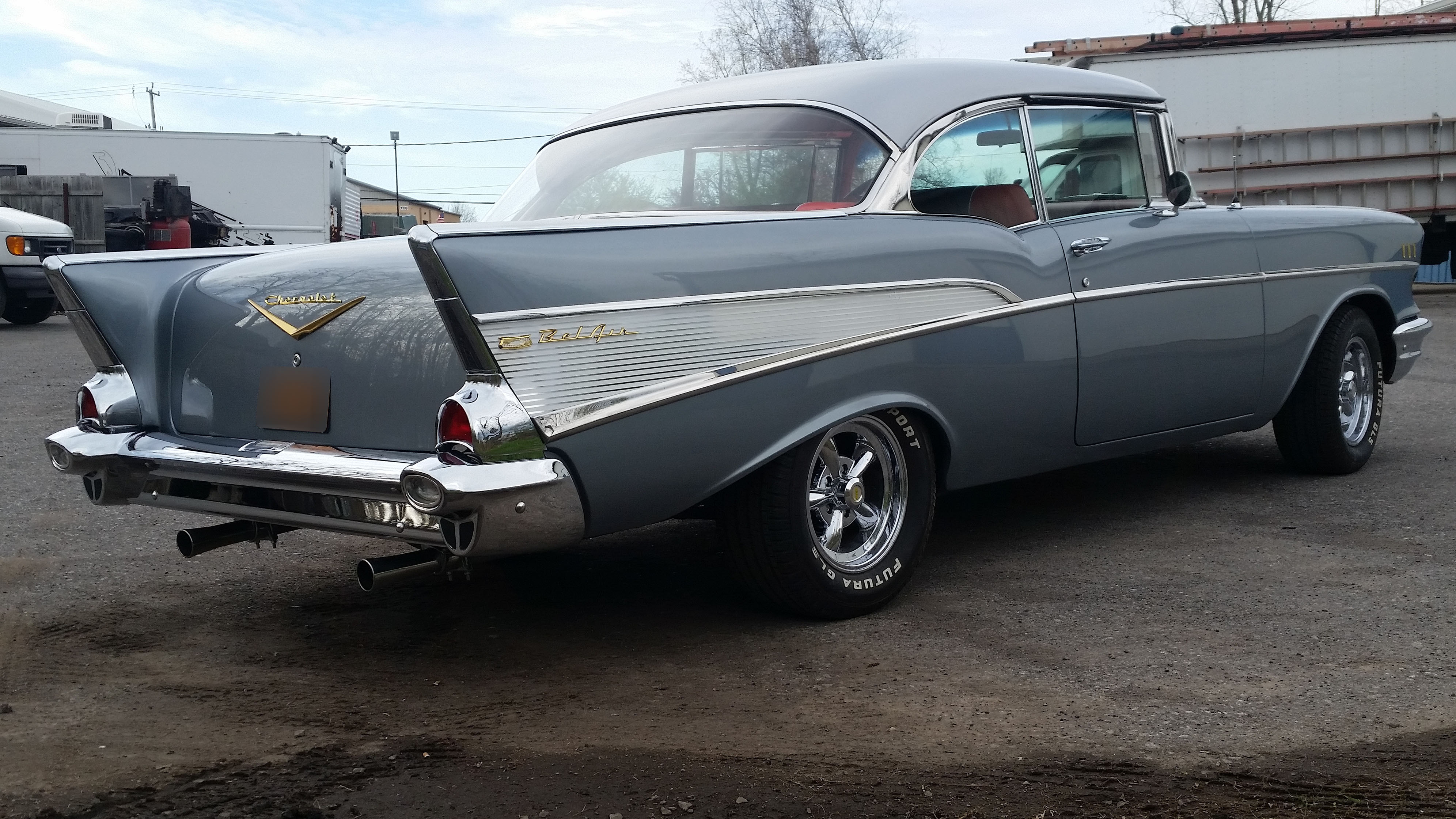 1957 Chevy Bel Air - S & S Auto Body of Clarence Inc.