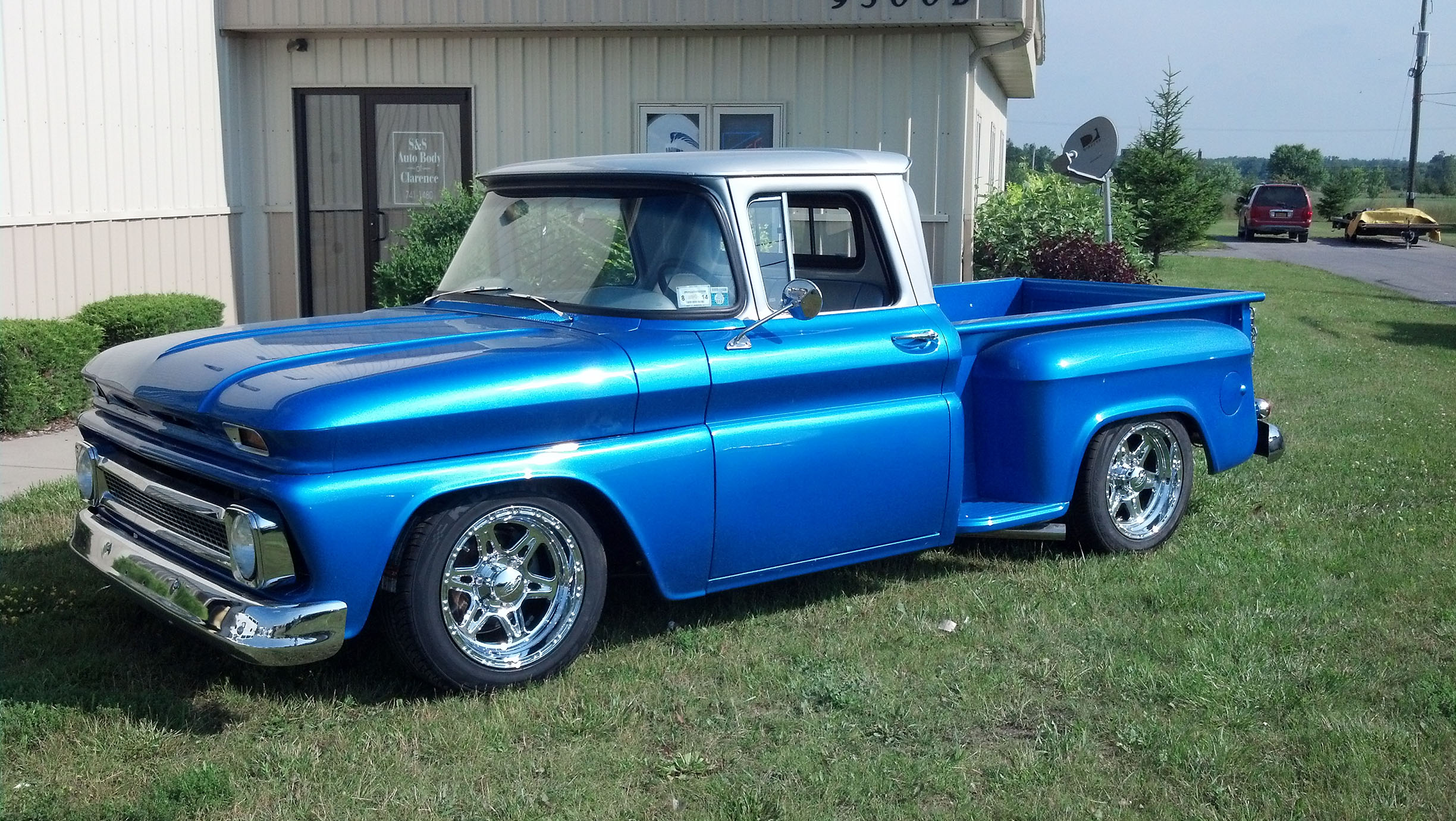1963 Chevy Truck S S Auto Body Of Clarence Inc