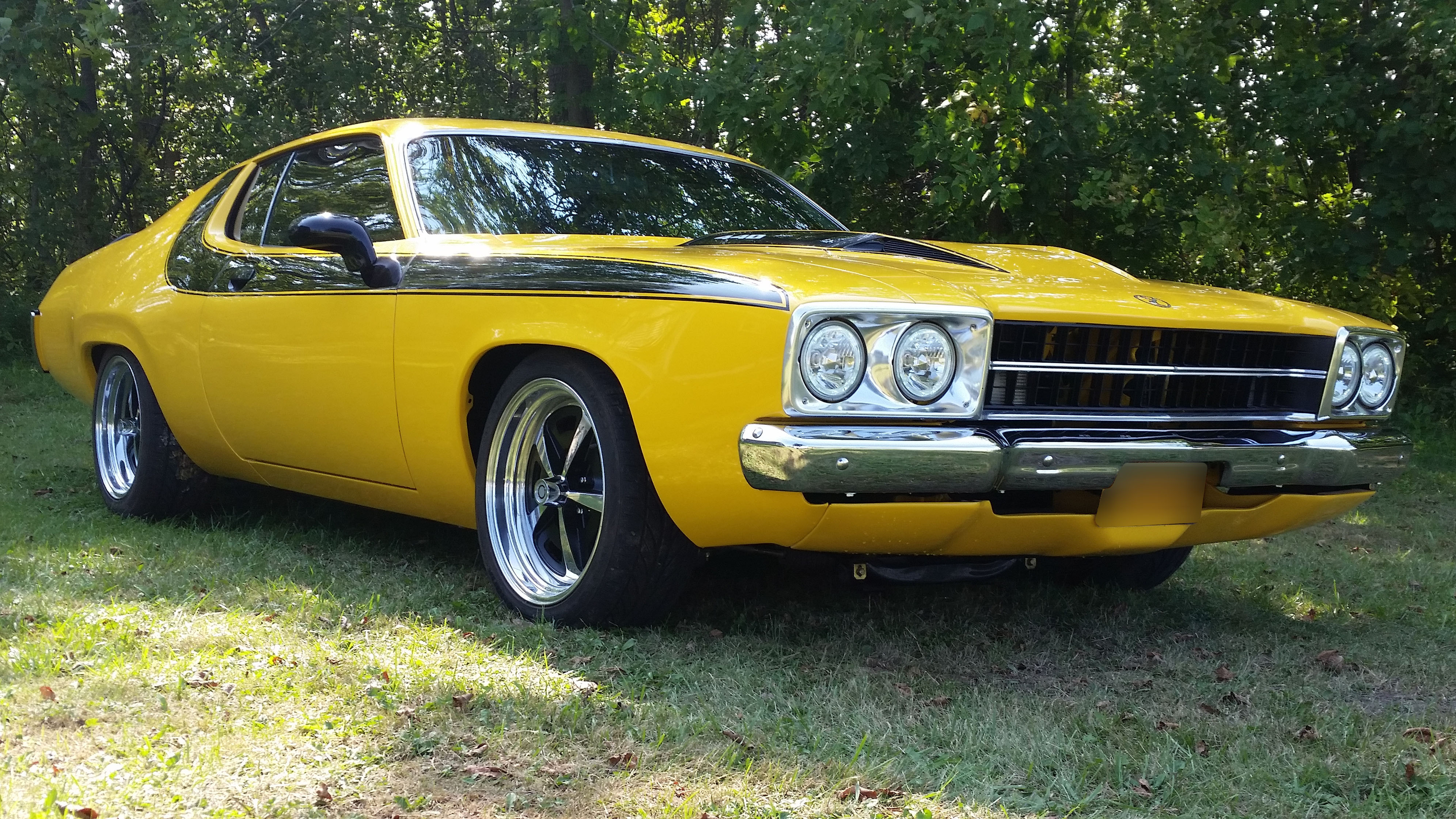 1974 Plymouth Road Runner S Amp S Auto Body Of Clarence Inc