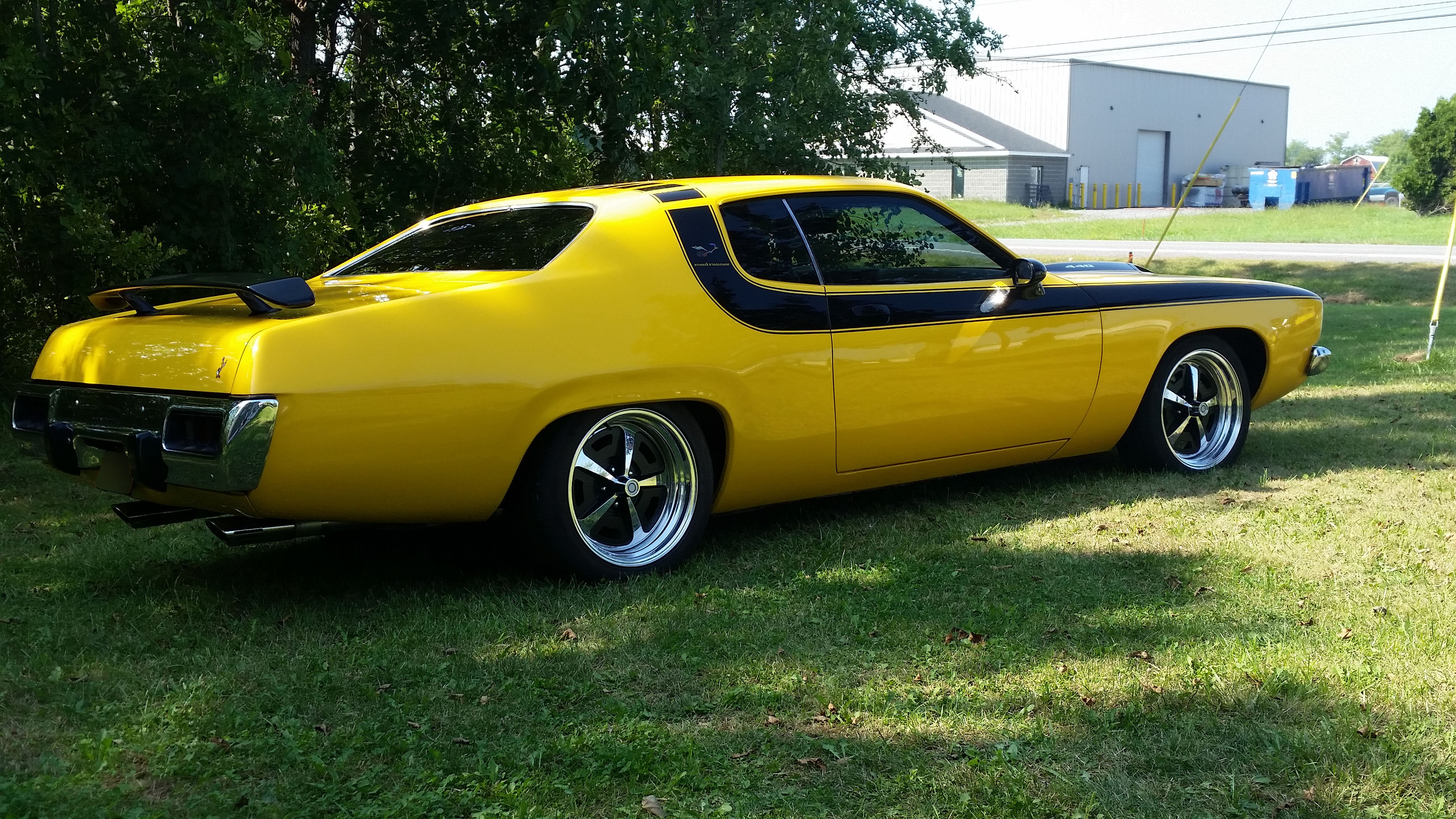1974 Plymouth Road Runner - S & S Auto Body of Clarence Inc.