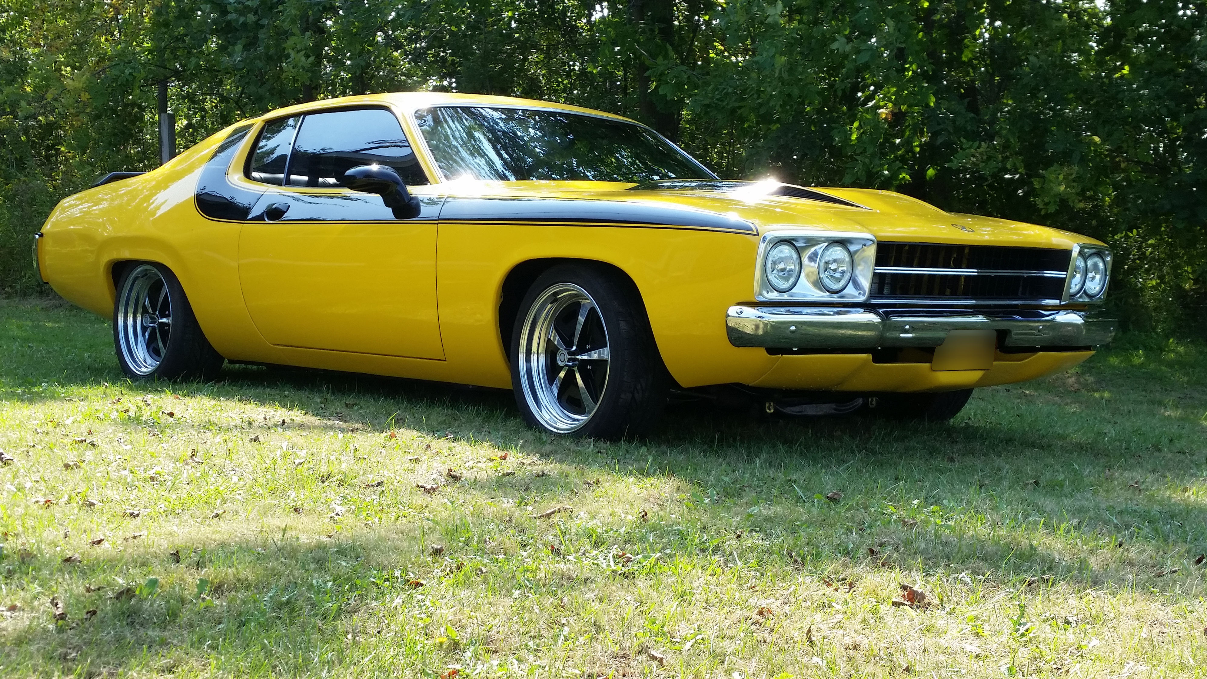 Chevy Chevelle 2016 >> 1974 Plymouth Road Runner - S & S Auto Body of Clarence Inc.