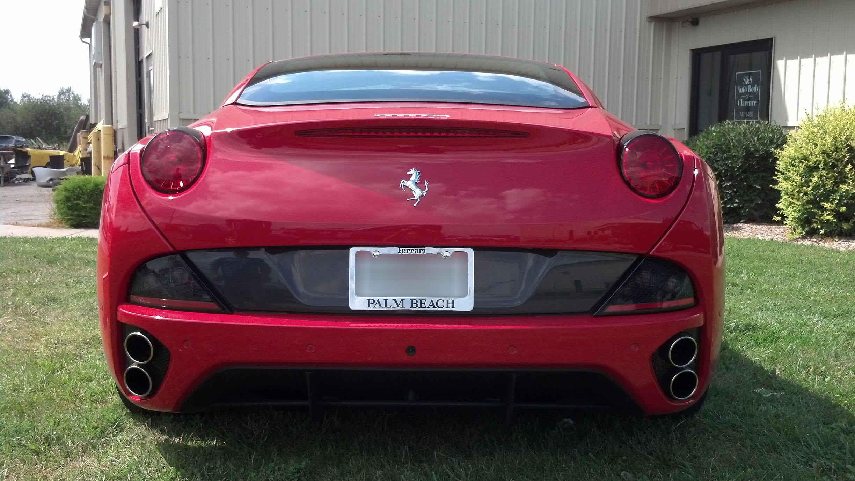 2014 ferrari california - s & s auto body of clarence inc.
